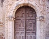 Mission Doorway Photograph, 5x7