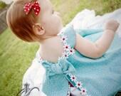 Spring Inspiration Circular Sundress & Ruffled Panties 0-3 mos,3-6 mo, 6-9mo , 9-12 mo,18 mo