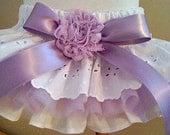 Custom Ruffled bloomers Girls Baby Toddlers 0-3 mos,3-6 mo, 6-9mo , 9-12 mo,  18 mo 24 mo 2T