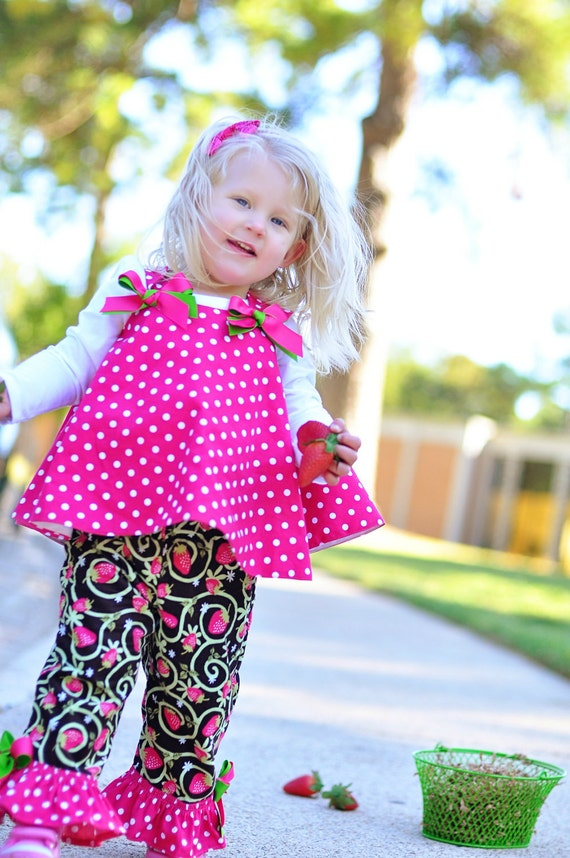 Custom listing for Flambeejoints Back to School Fall Twirl Top and pants Custom 1T 2T 3T