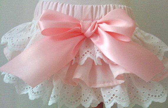 Ruffled bloomers Custom Ballet Pink Newborn thru 2T