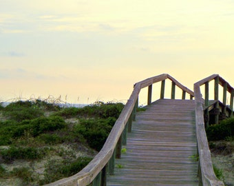 Beach Walkway, Peter's Point, Amelia Island, Florida--8 x 10 fine art photo, signed