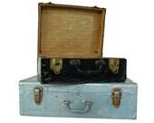 Metal Suitcases / Vintage Luggage