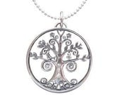 """Young Women Values 18"""" Necklace In Sterling Silver"""