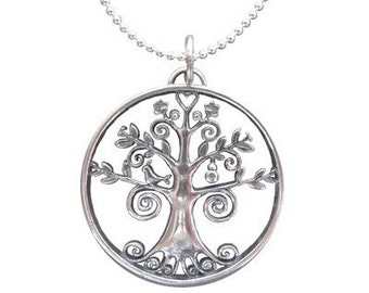 "SMALL Young Women Values 16"" Necklace In Sterling Silver"