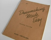 Dressmaking Made Easy - McCall's Sewing Book - 1943
