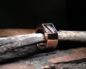 Hollow Copper Ring
