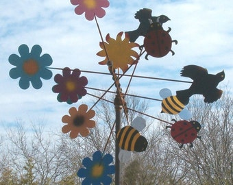 Birds & Bees Whirligig