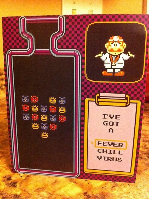 Dr. Mario Card Template
