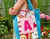 Personalized Handbag for Girls, Custom Tote Bag