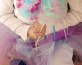 Magic Fairy Wand/Tulle Puff Ball/Foofy Foof