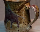 Speckled Burgundy Red and Brown Mug