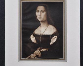 La Muta by Raphael (Italian Renaissance artist)