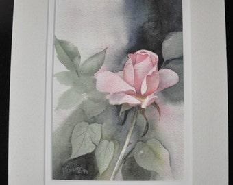 Pink Rose by Jerrilyn Emison, art work