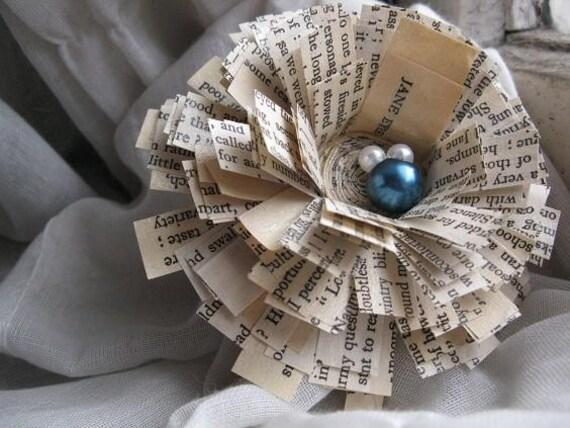 Jane Eyre Novel Book Brooch