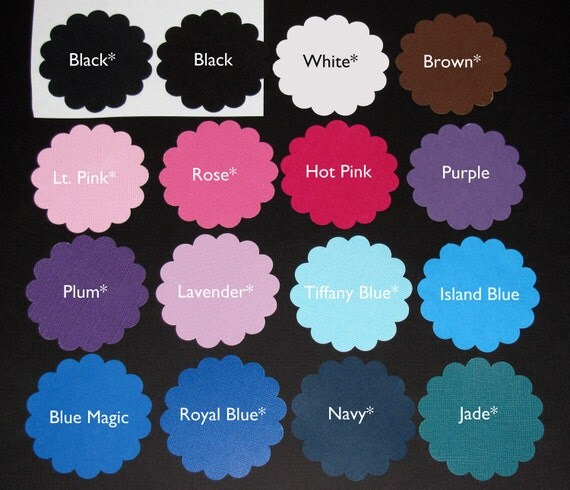 Mini Solid Cupcake Wrappers blue purple lime green brown yellow hot pink textured black teal orange