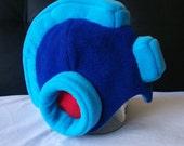 Mega Man Full Helmet Fleece - Child to Adult Sizes - Custom Colors