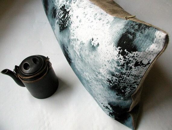 S a l e  -30%   // Manish Linen  Throw Pillow - D u n e 2 / FRAGMENTS