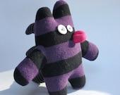 Purple Spiny Sock Critter