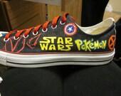 Custom Converse, Hand-Painted