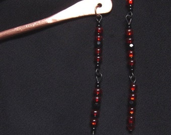 Black Widow Hair Sticks