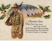 RESERVED for JoeZ Post Card Greetings Circa 1917 Camp Hancock Augusta Georgia