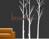 New Design - White Winter Tree : Wall Removable Vinyl