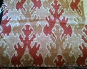Reserved - Decorative Pillow Cover - Bengal Bazaar for Lee Jofa - Apricot Color - 26X10
