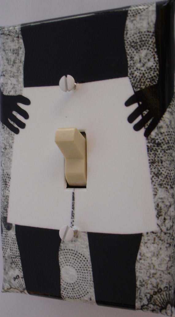Bachelorette party favor switchplate cover