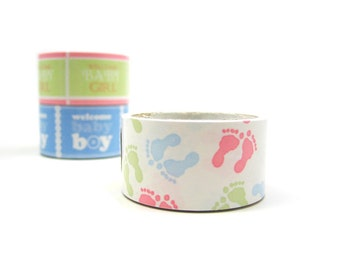 Baby Gift Packaging Tape - Removable Paper Tape - Sale
