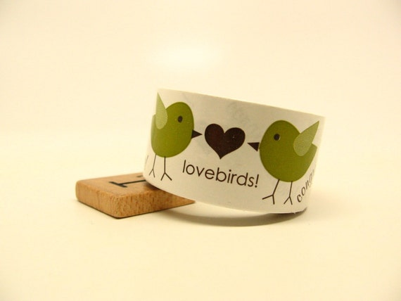 Lovebirds Wedding Tape