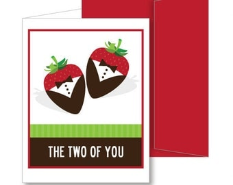 The Two Of You Make The Sweetest Couple A2 Greeting Card - 2 Grooms