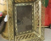 Vintage Metal Picture Frame- Frames/ Mirrors