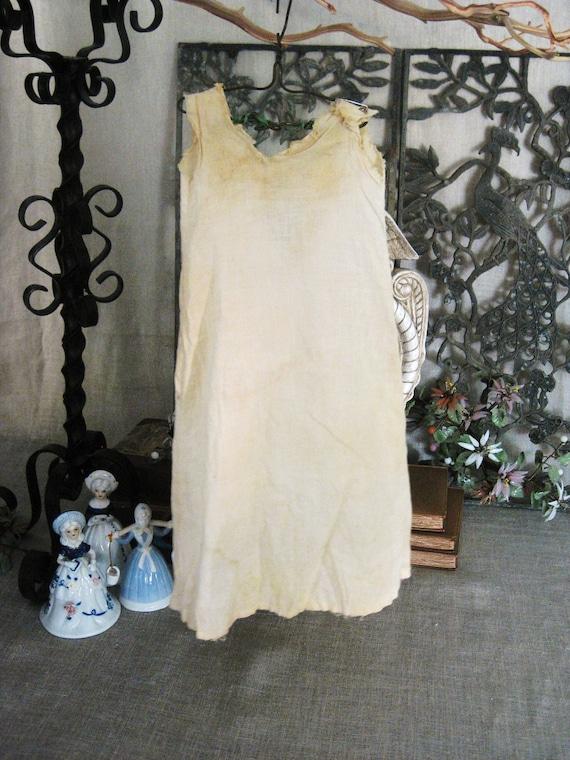 Vintage Doll Dress- Doll Parts/ Toys