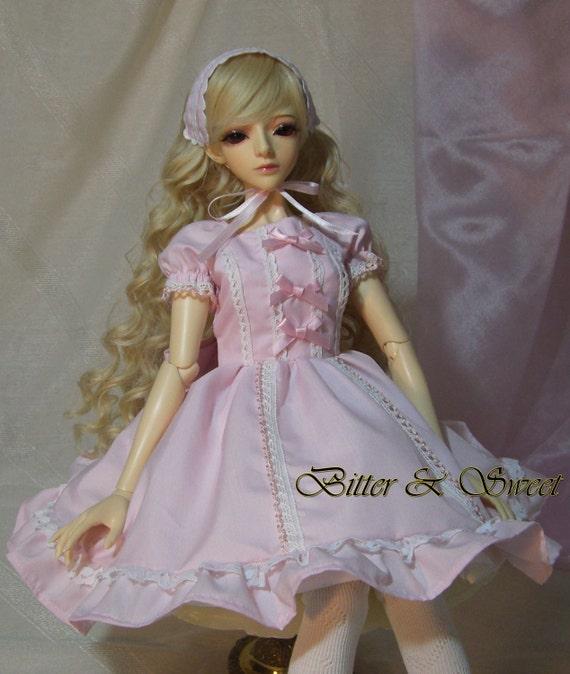 bjd dollfie Bitter & Sweet sweet lolita dress by BitterAndSweet