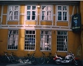 Inn and Bikes Oslo Norway Gamle Christiania Color Photograph 8 x 10