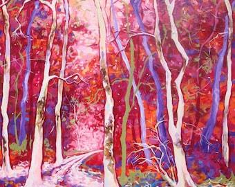 Madison - Orignal Painting by Sara Larson Art