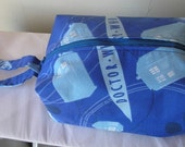 Traveling with Doctor Who Project Bag