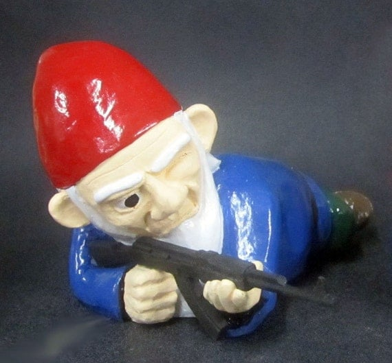 Combat Garden Gnomes: Unavailable Listing On Etsy