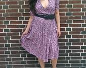 Vintage 90's floral dress (now on sale 25%off)