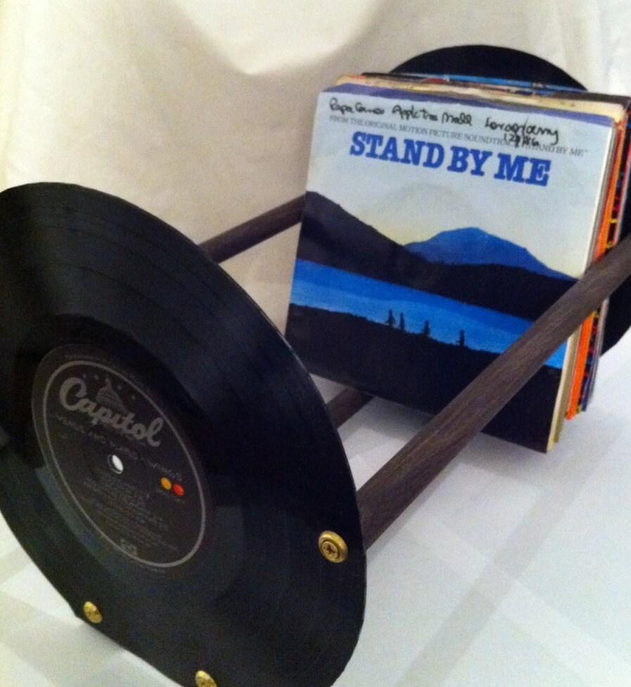 Vinyl record 45rpm storage rack for Diy vinyl storage