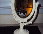 Vintage Mirror in Cream