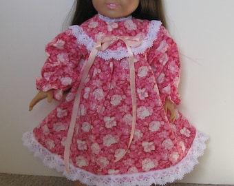 """American Girl Style Pioneer dress with pantaloons  18"""" doll"""