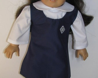 American Girl Catholic School Uniform outfit, 2 piece