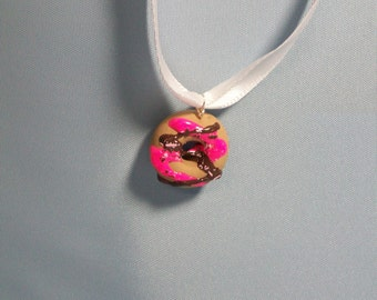 Polymer Doughnut Necklace