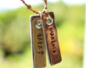 Personalized necklace for Dudes