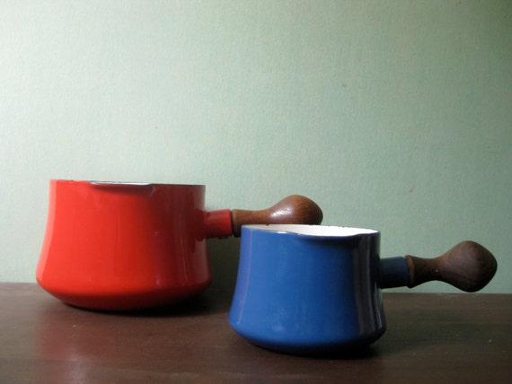 RESERVED Dansk Kobenstyle Pot/Saucepan in Blue