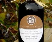 100% Pure Gourmet Vanilla Extract - 8 oz bottle