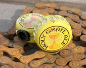 Holy Grail Ale beer bottle cap bicycle tire valve caps