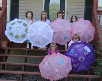 Made to order,Parasol Umbrellas for Rain or Shine
